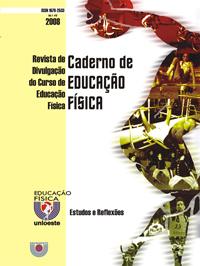 Visualizar V. 7, N. 12, 2008 | Caderno de Educação Física